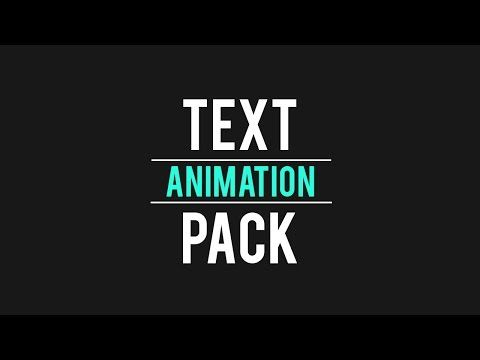 Download 48 2d 3d Text Presets For After Effects Freebie