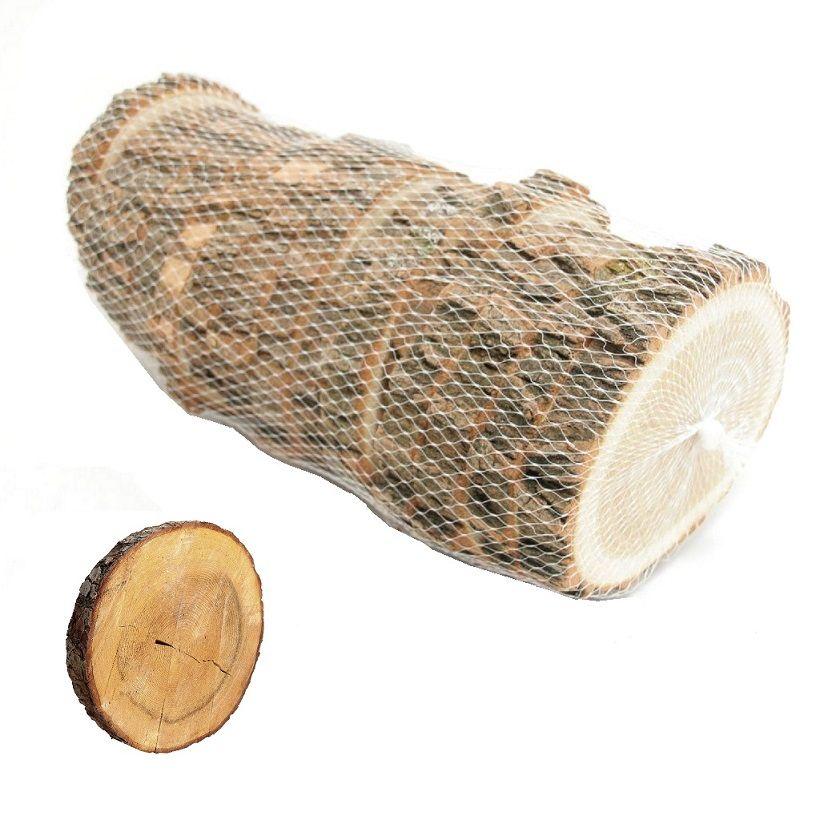 Rodajas de madera para decoraci n centros de mesa base de - Troncos de madera para decorar ...