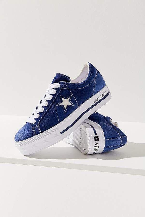 031da539ba39 Converse One Star X MadeMe Suede Platform Sneaker