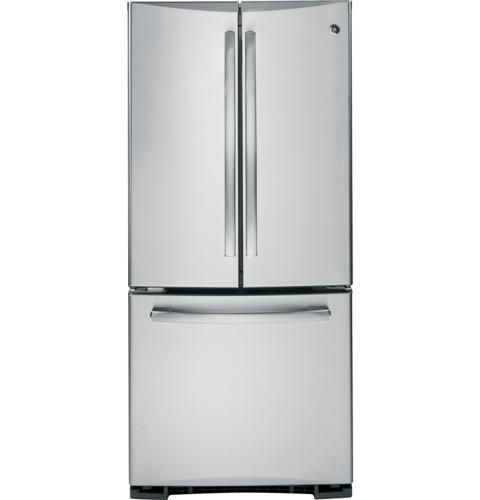 Pns20ksess Ge Profile Series 19 5 Cu Ft French Door Bottom Freezer Refrigerator Ge Appliances French Door Refrigerator French Doors Fridge French Door