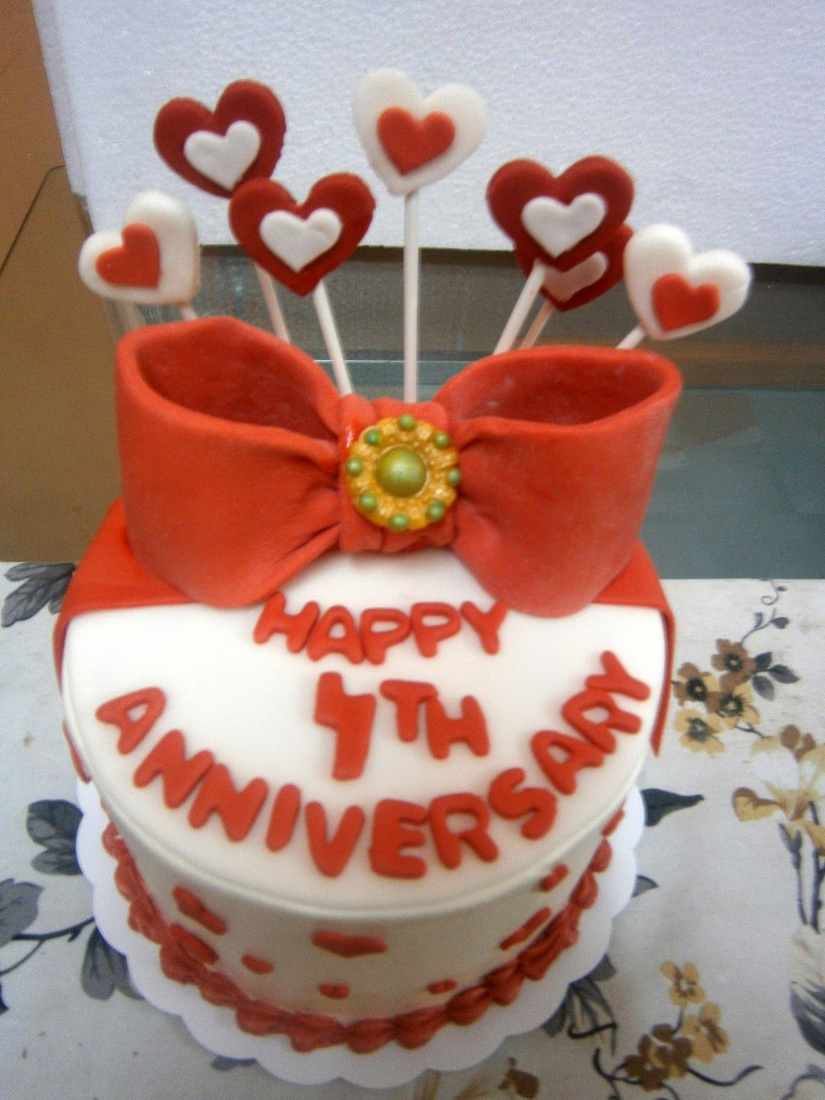 4th wedding anniversary cake wedding anniversary in 2018