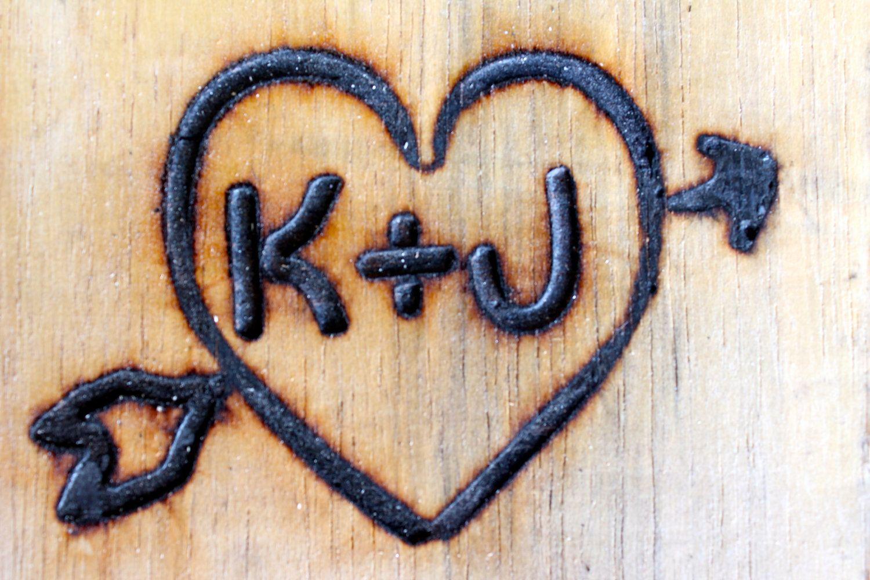 Steak Size Branding Iron Custom Wedding Heart And Initials Etsy Custom Wedding Heart Wedding Branding Iron