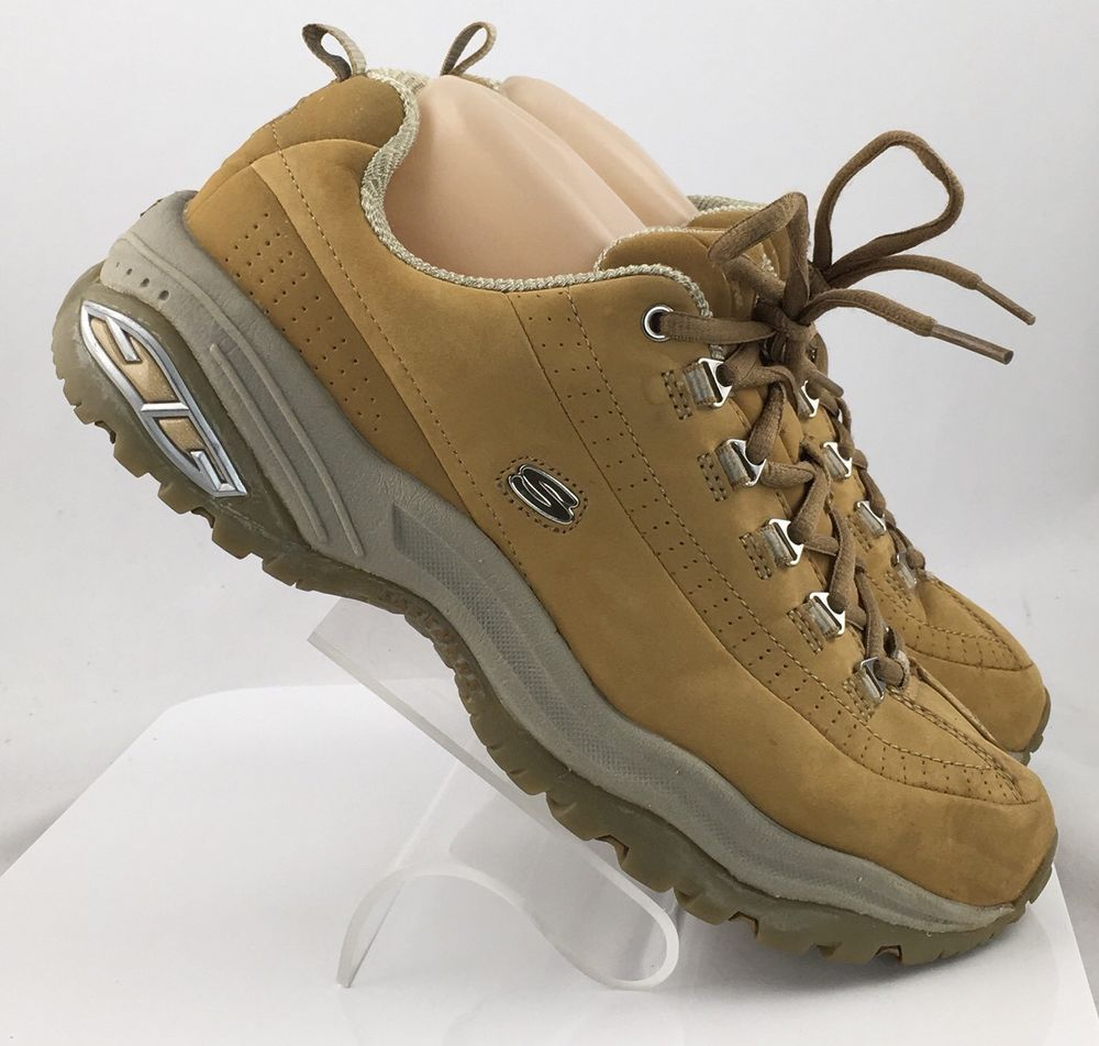 67b16be674a Skechers Sport Premium Sneakers Womens Size 10 Taupe gold Leather ...