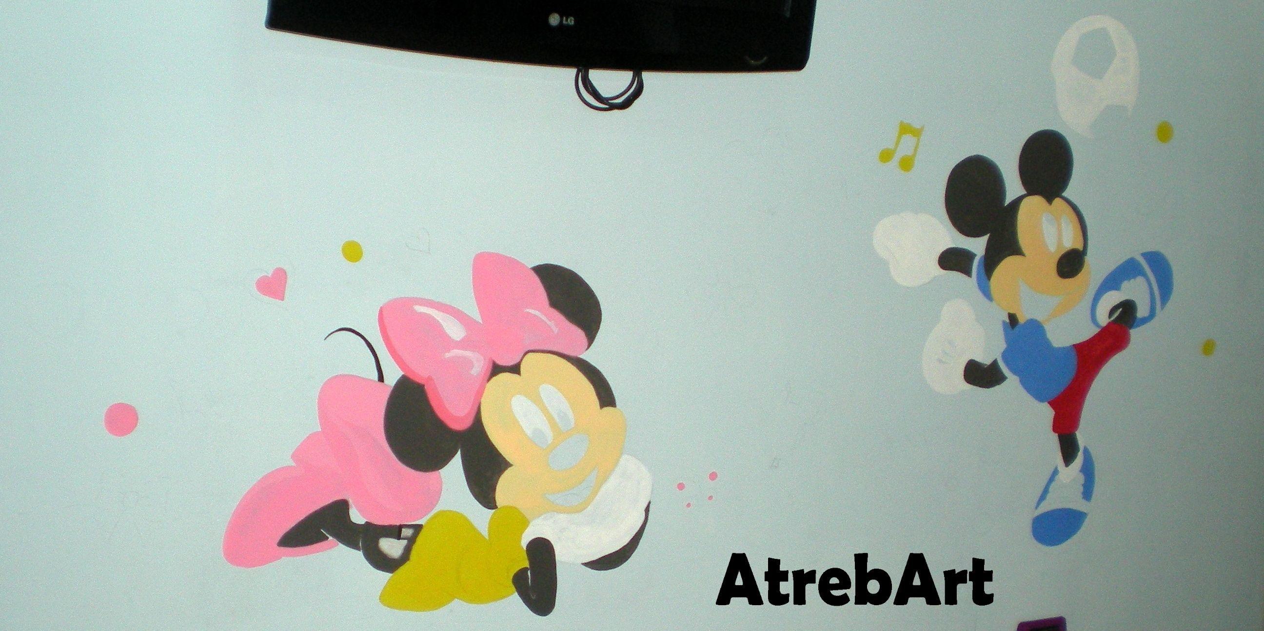 mural baby room ... in progress
