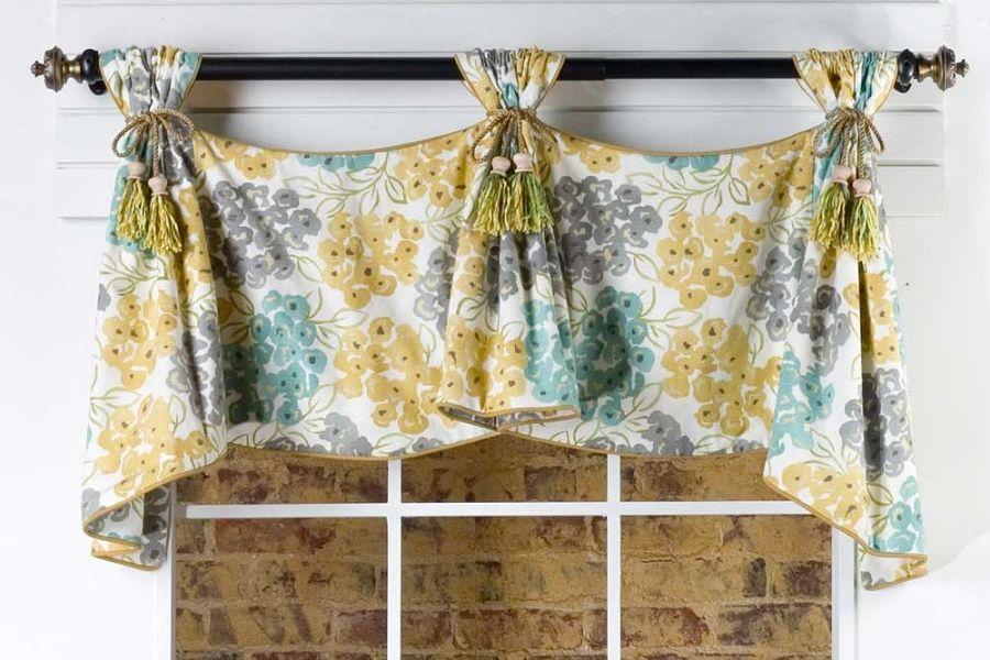 Celebrity Curtain Valance Sewing Pattern Valance