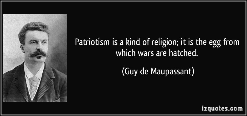 Why Patriotism is Wrong - Sleeping Geeks