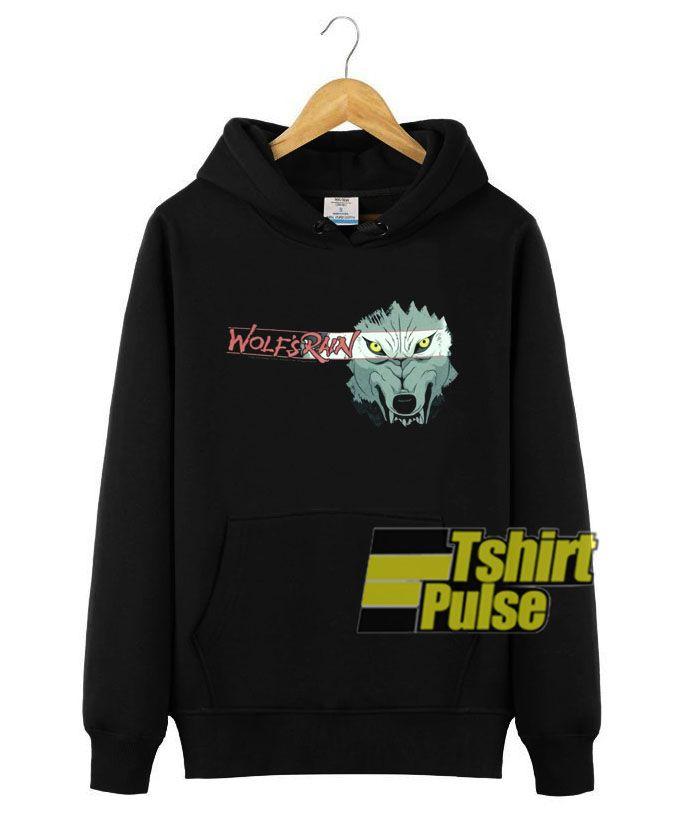 Photo of Anime Wolf's Rain hooded sweatshirt clothing unisex hoodie