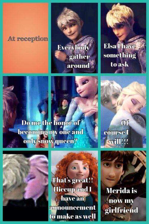 Part 39 Hiccup Has Already A Girlfriend And She S Astrid Disney Frozen Elsa Disney Princess Memes Jelsa