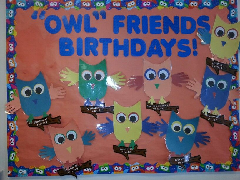 Birthday Board Arts in My Classroom Pinterest Birthday