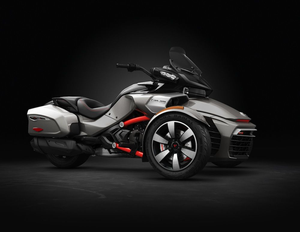 Brp Video Ultra High Performance For The All Electric Can Am Spyder F3 S Techvehi