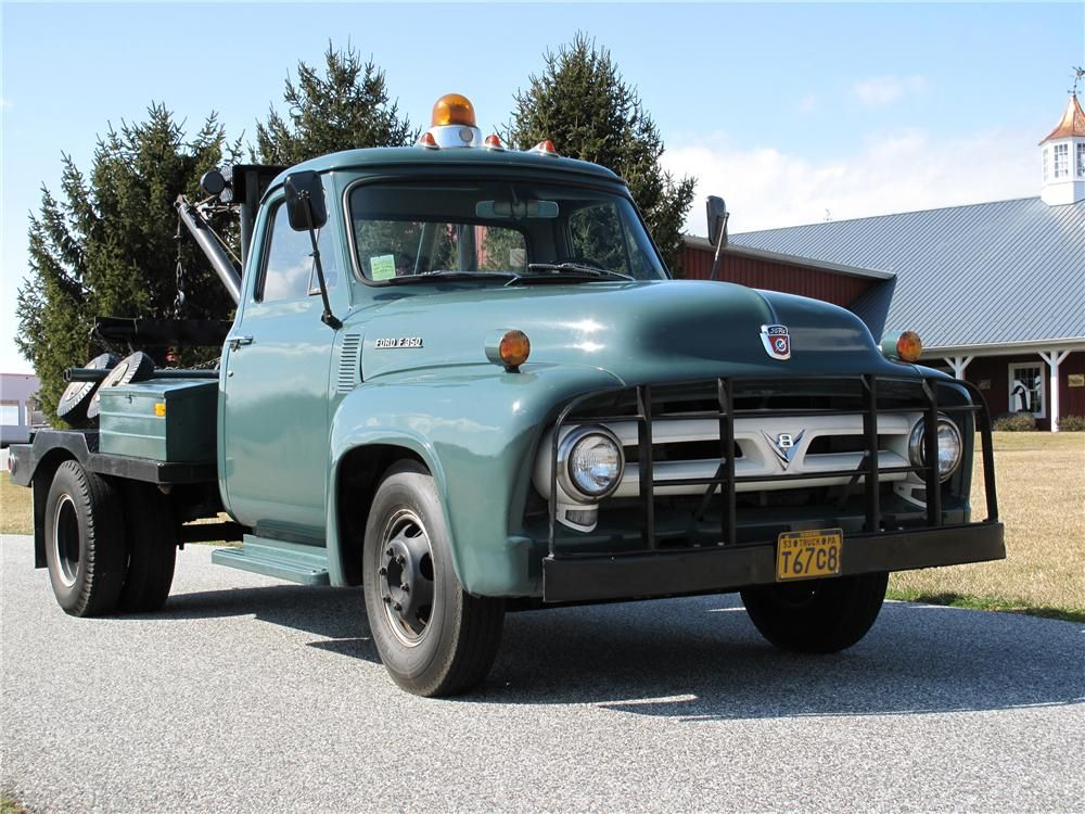 1953 Ford F 350 Tow Truck Barrett Jackson Auction Company