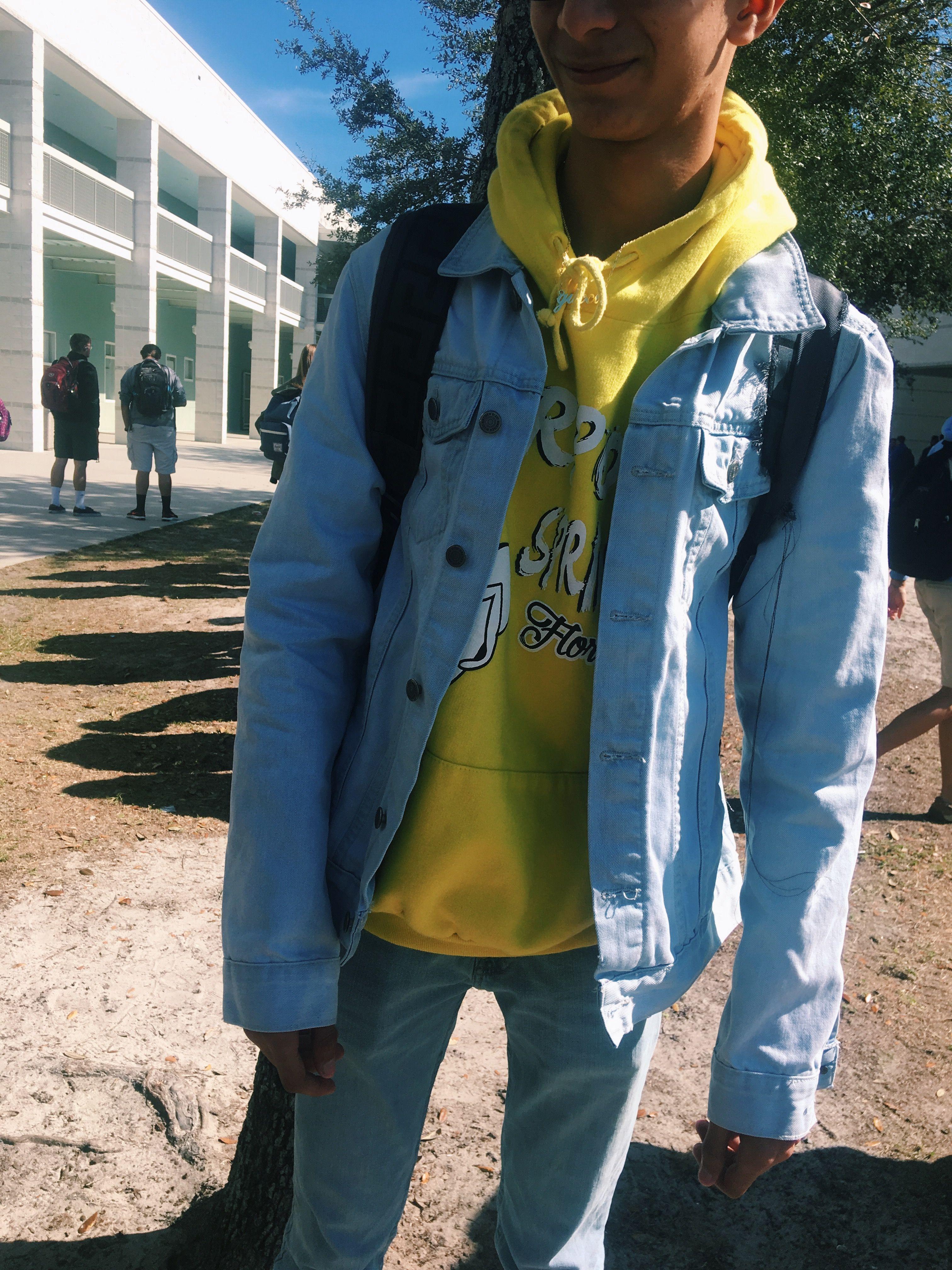 Jean Jacket One Cotton On Hoodie Walmart Jeans Pacsun Shoes Revenge X Storm High School Fashion Fashion Pacsun Shoes [ 4032 x 3024 Pixel ]