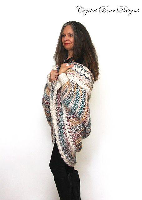 Luxe Oversized Shrug Pattern By Bernadette Prokopetz Ranges
