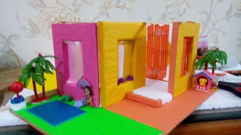 Making model house school project