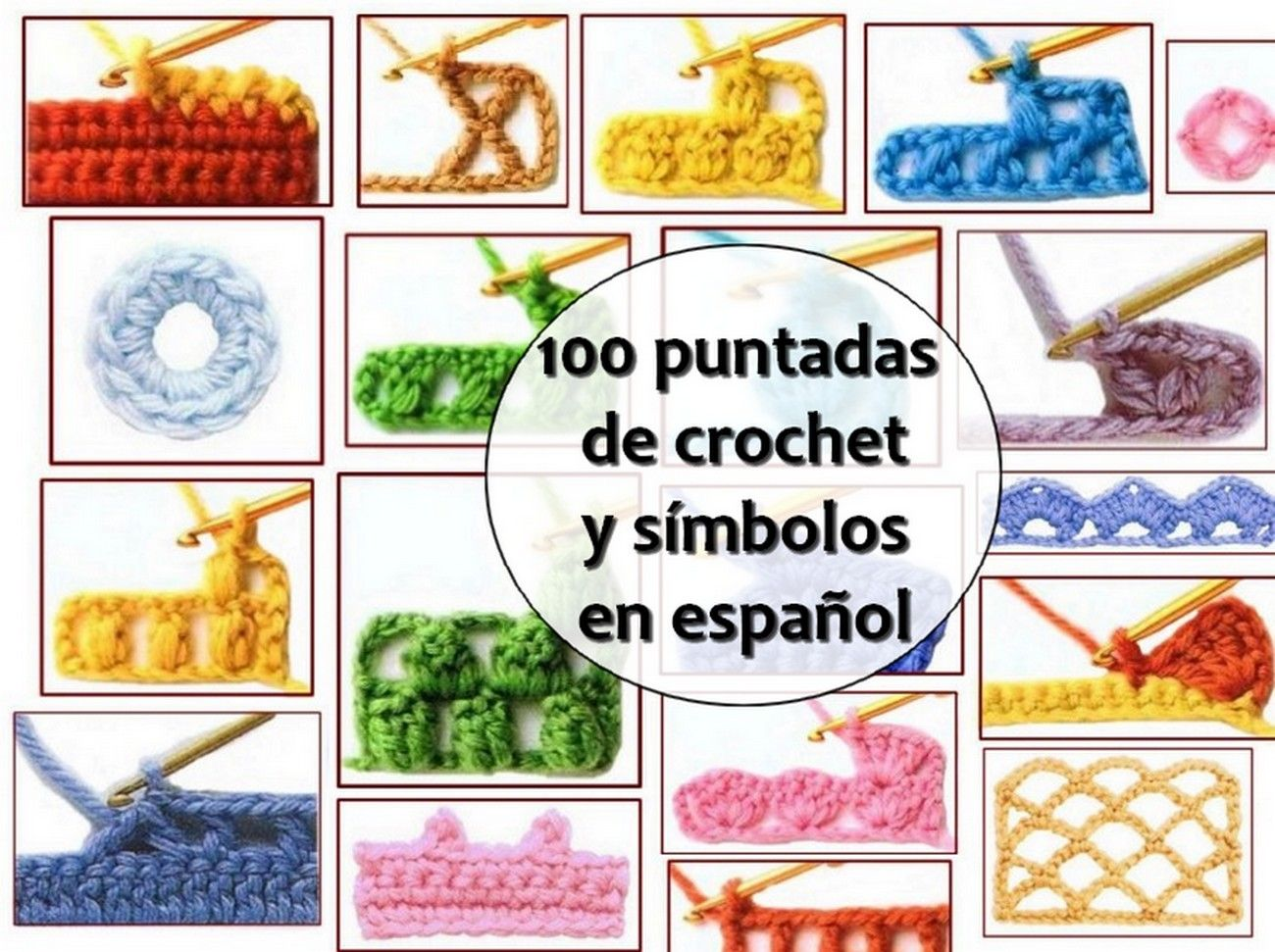 Hemos reunido, para usted, esta guía crochet donde podrá aprender ...