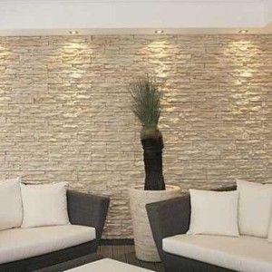 Natural Stacked Stone Veneer Interior Wall Cladding Ideas Home