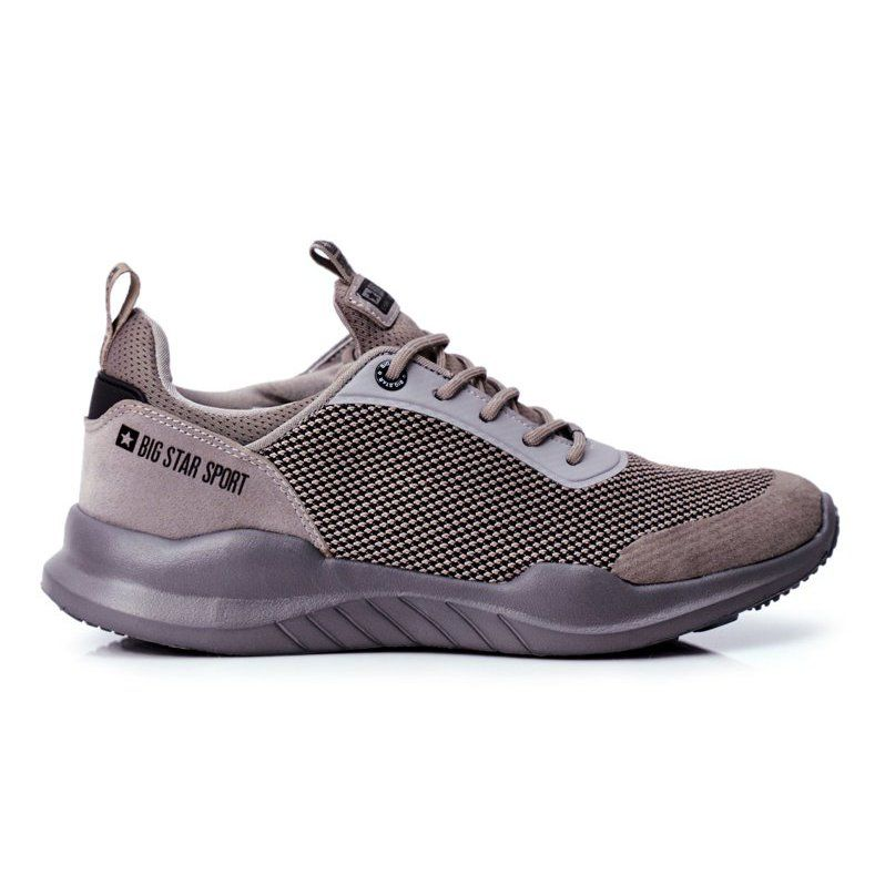 Sportowe Obuwie Meskie Big Star Szare Ff174178 Shoes Puma Sneaker Sneakers