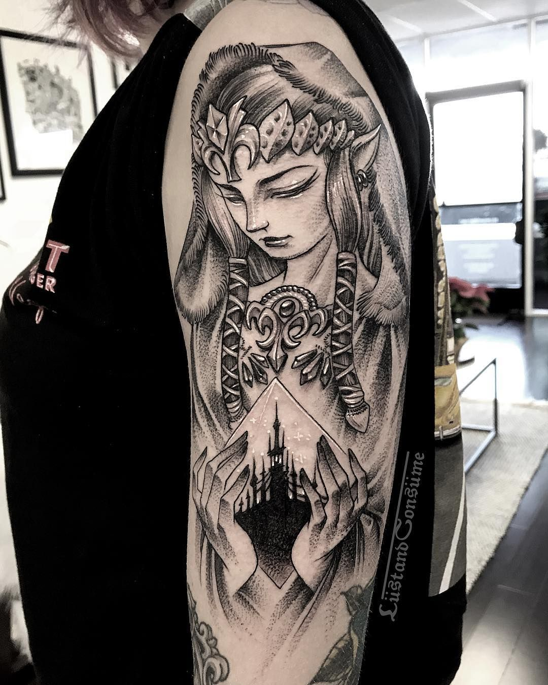 3 535 Likes 44 Comments Phil Tworavens Lustandconsume On Instagram Twilight Princess Thanks So Mu Zelda Tattoo Princess Tattoo Zelda Twilight Princess