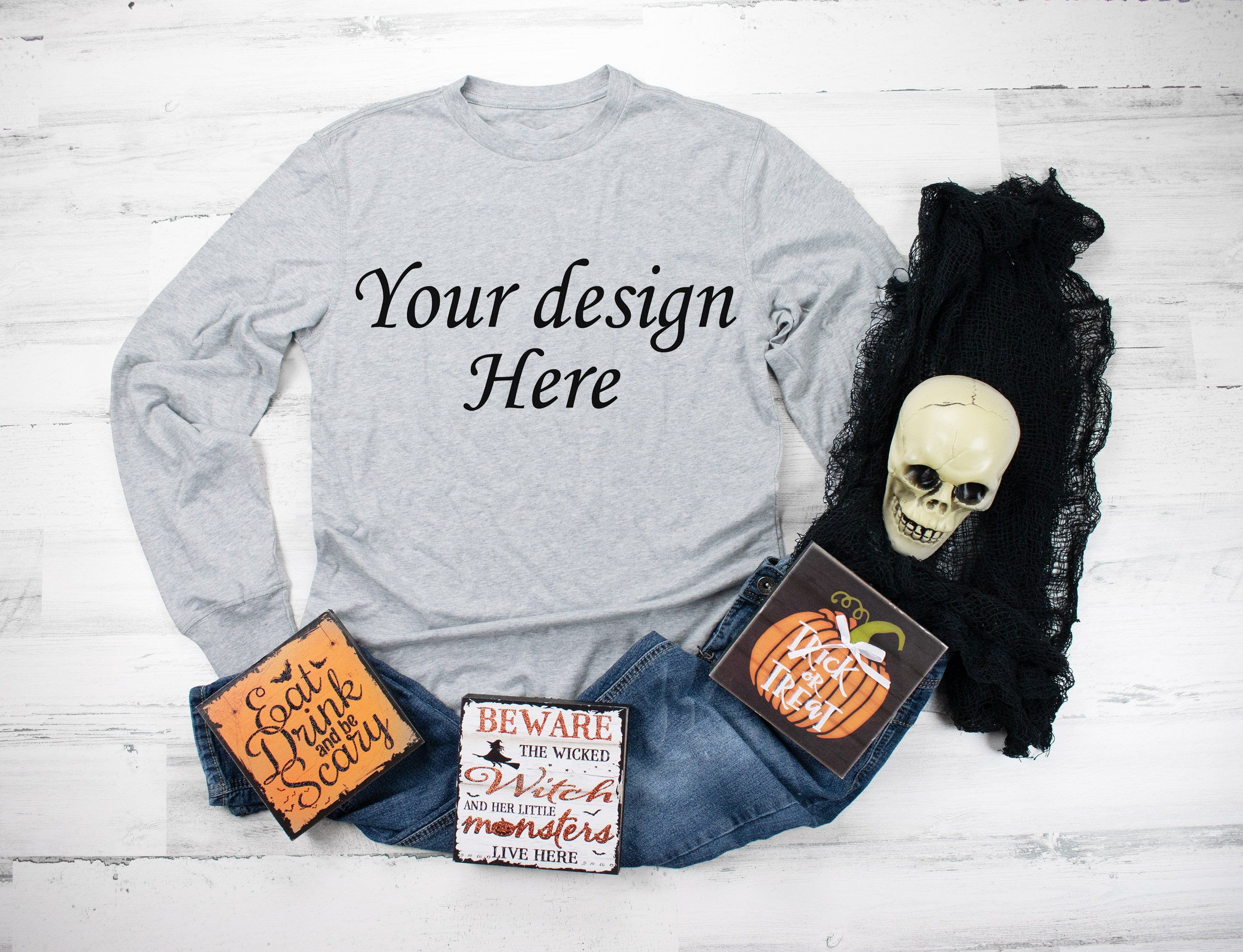 Download Long Sleeve Shirt Mockup Gray Shirt Mockup Halloween Shirt Etsy Shirt Mockup Grey Shirt Long Sleeve Shirts