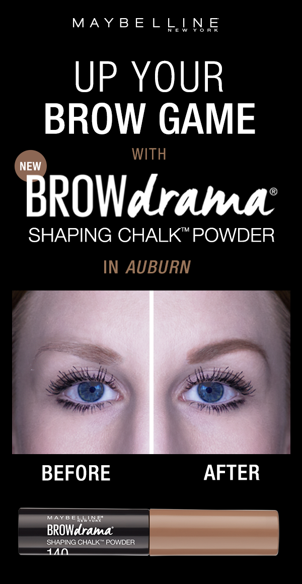 4befb016d53 Up your eyebrow game with the NEW Brow Drama Shaping Chalk Powder. The  loose powder formula fills in smooth color, while the thick-to-thin brush  applicator ...