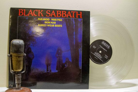 On Sale Black Sabbath Vinyl Record 12 Album 1970s British Heavy Metal Doom Evil Rock Ep Black Sabbath Import 1982 Nems Black Sabbath War Pigs Vinyl Records
