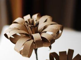 Free Paper Flower Templates Paper Flower Template Toilet Paper