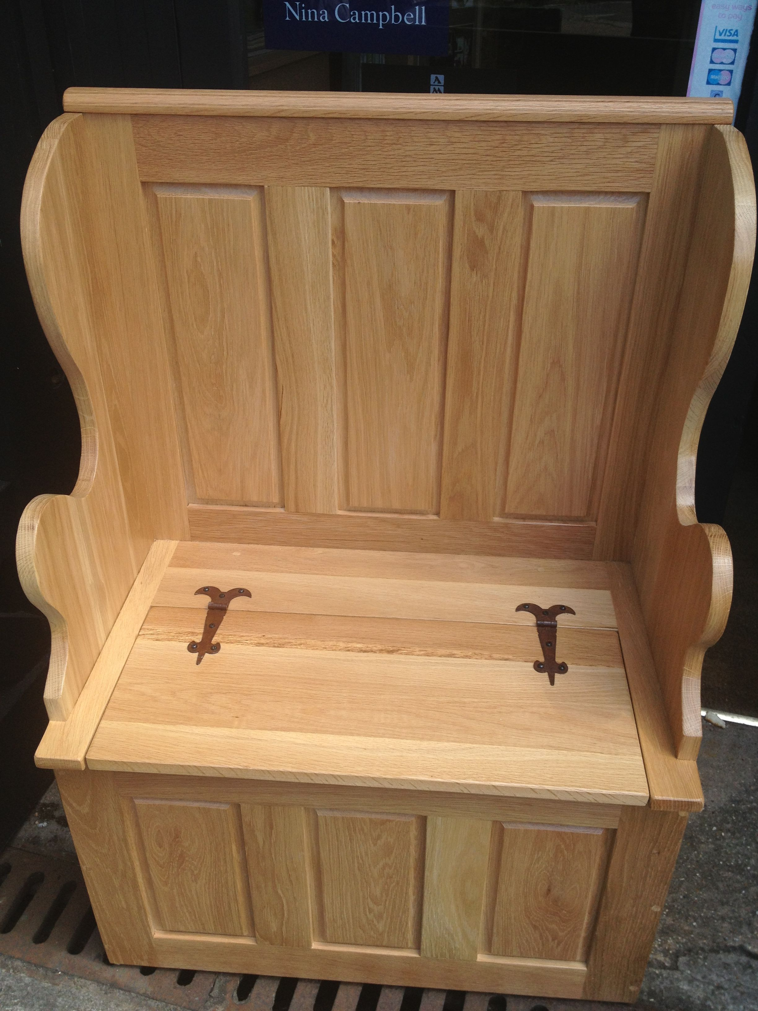 Pleasing Monk Bench Comes In 2Ft And 4Ft Sizes Benches Chairs Uwap Interior Chair Design Uwaporg