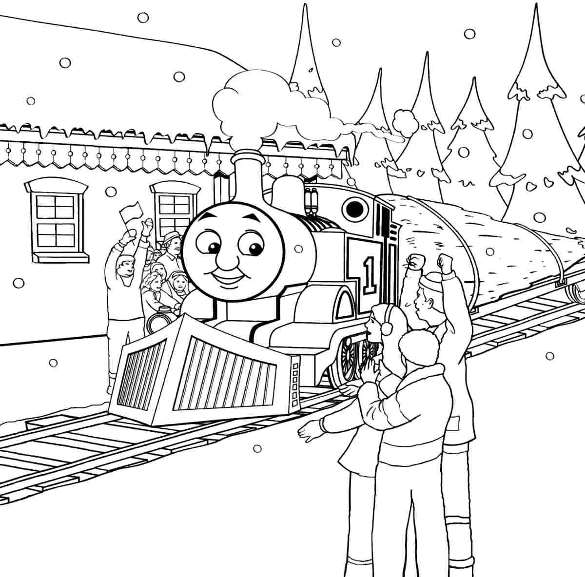 Thomas Thomas The Tank Colouring Pages Page 3