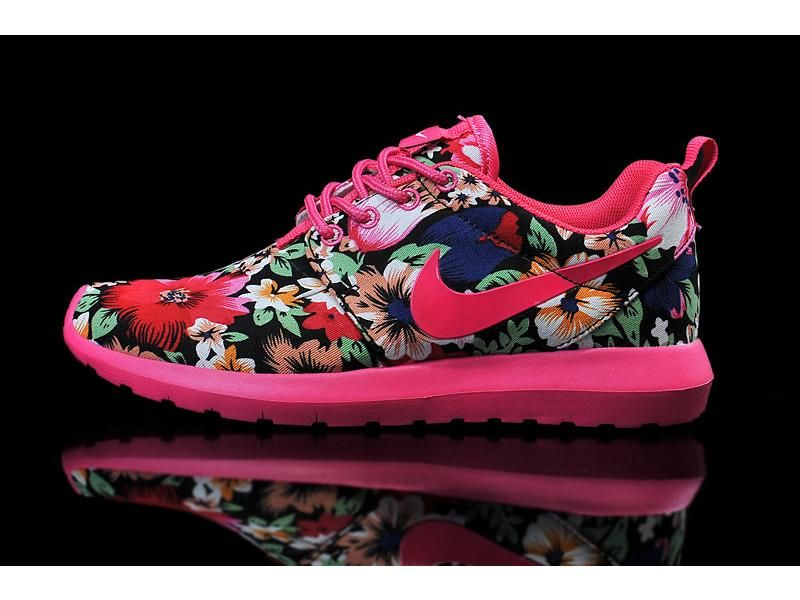 nike womens roshe run print london olympics logo