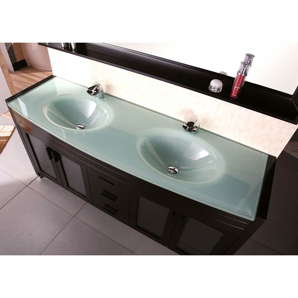 Overstock Com Online Shopping Bedding Furniture Electronics Jewelry Clothing More Double Sink Vanity Bathroom Faucets Waterfall Vanity Sink