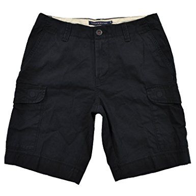 Tommy Hilfiger Men s 10 Inch Flat Front Cargo Shorts Bermuda Review ... f057f2ed925