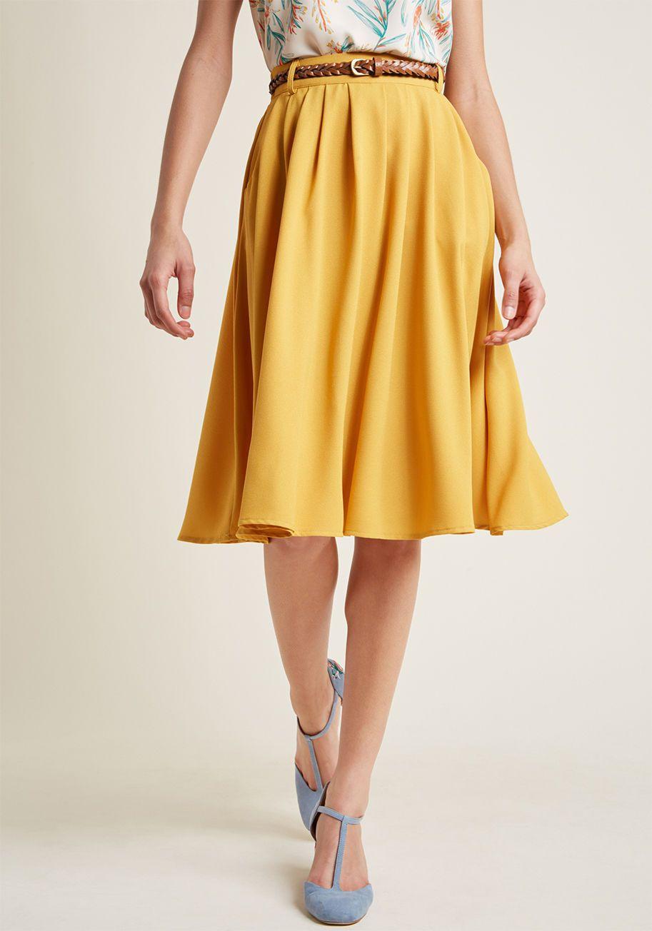 731a4f1711 Breathtaking Tiger Lilies Midi Skirt | Dope | Skirts, Midi Skirt ...