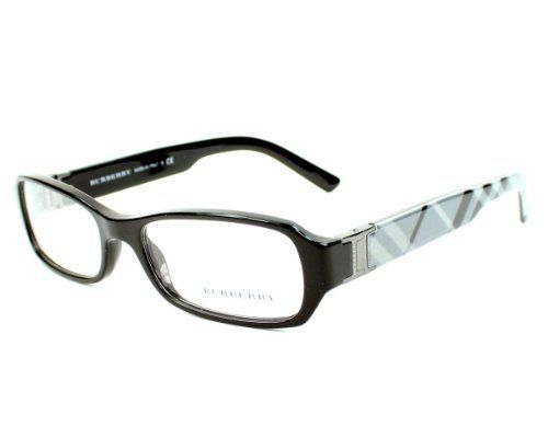 dd2f374b069 Burberry Eyeglasses frame BE 2082 3001 Acetate Black Burberry.  133.46