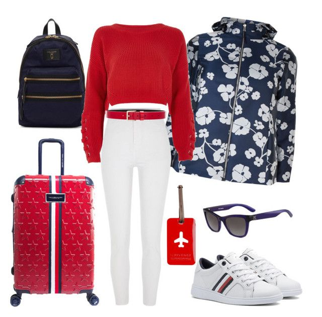 """""""Untitled #165"""" by lucie747 on Polyvore featuring Marc Jacobs, Marina Rinaldi, River Island, Tommy Hilfiger, Lovers + Friends and Karl Lagerfeld"""