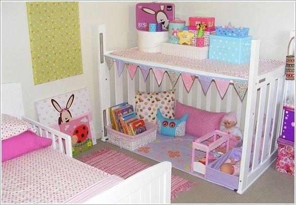 kinderbett recycling spielhaus kinderzimmer puppen kids. Black Bedroom Furniture Sets. Home Design Ideas