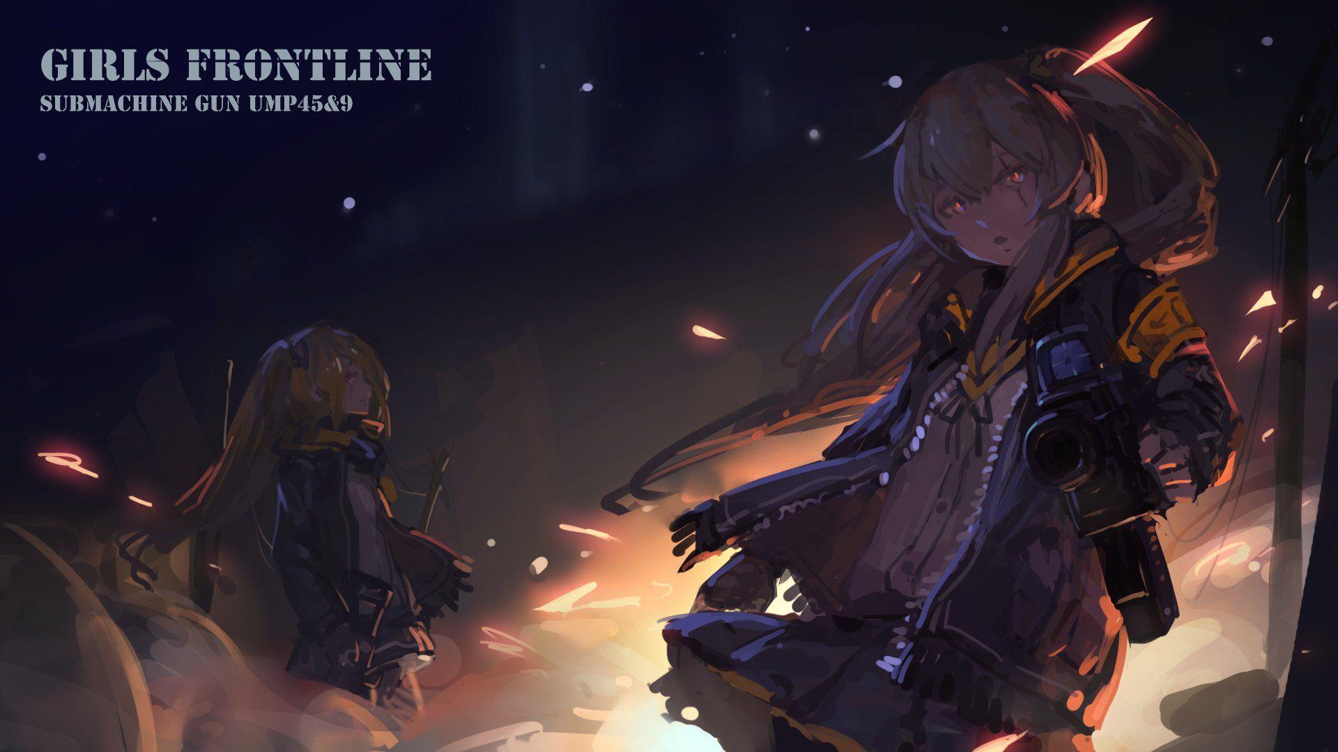 Anime Girls Frontline Wallpaper Seni