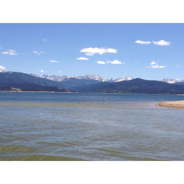 Beautiful Lake Granby!  Highland Marina!