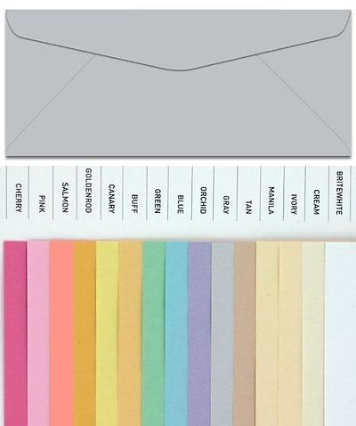 Paper and Envelopes 3123: Domtar Colors - Earthchoice No  10