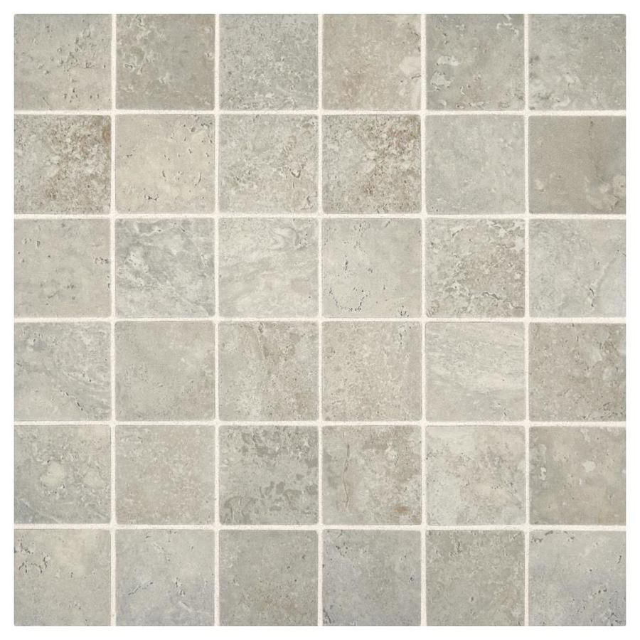 American olean tranquil stone warm gray uniform squares mosaic american olean tranquil stone warm gray uniform squares mosaic ceramic floor and wall tile common dailygadgetfo Images