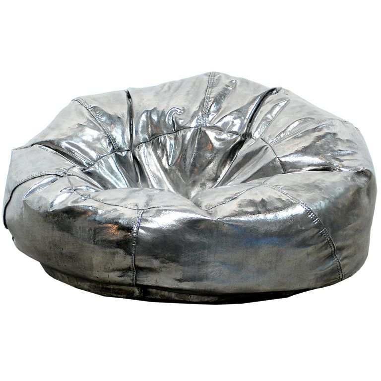 Insanely Awesome Stainless Steel Bean Bag Chairs By Cheryl Ekstrom