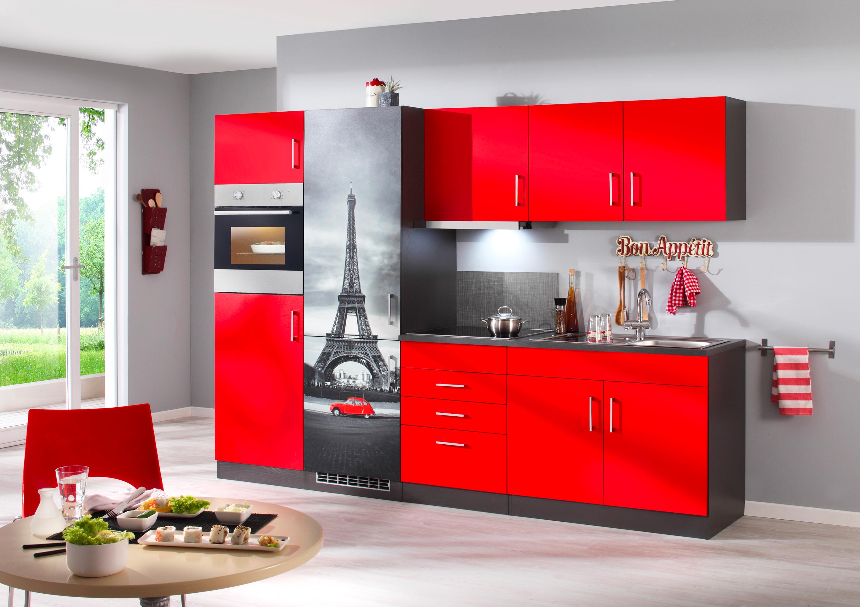 Die Franzosische Kochkunst Ist Eine Der Besten Der Welt Mit Dieser Kuchenzeile Mit Eiffelturm Motiv Zieht Pariser Feeling In De Schrank Kuche Held Mobel Kuche