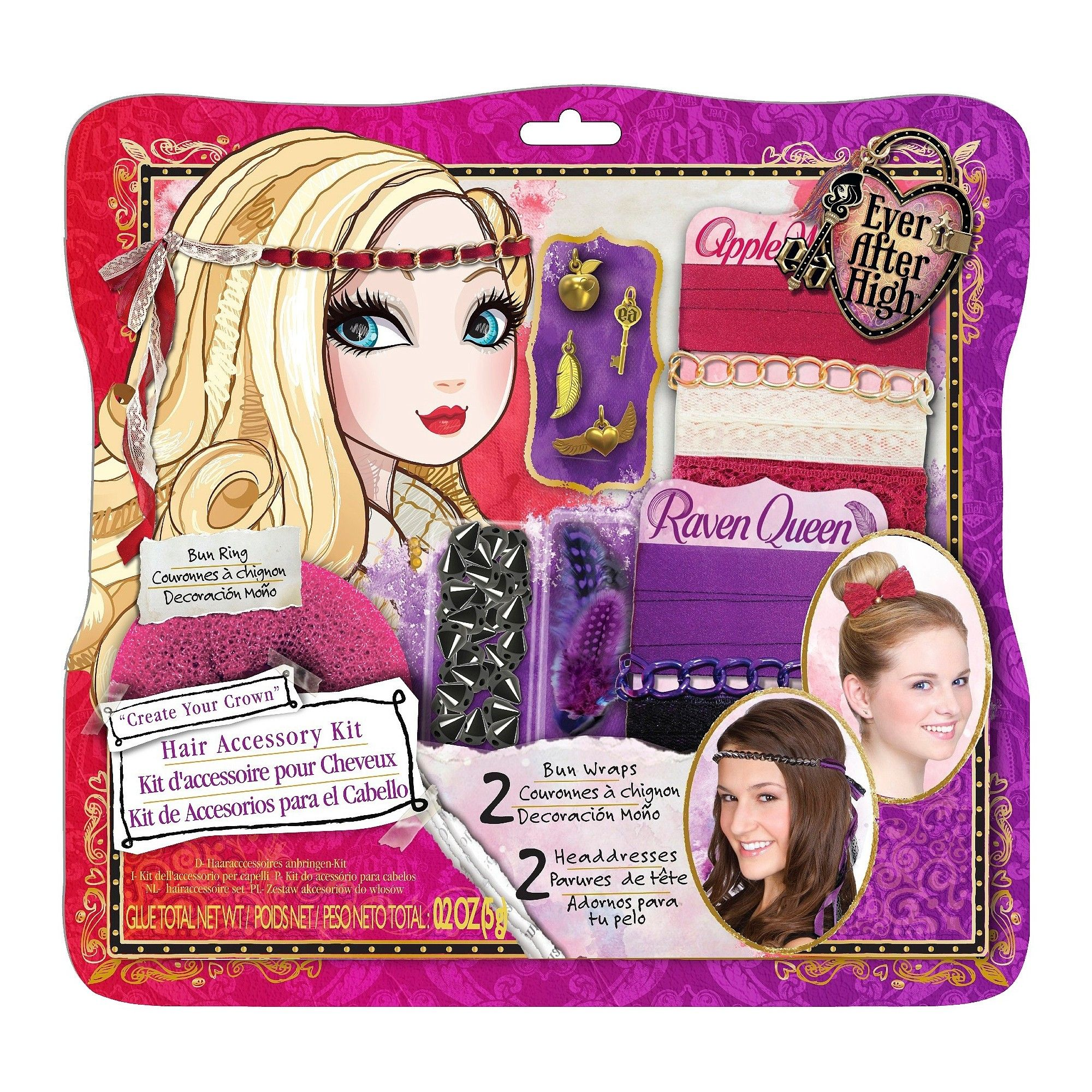 ever after high hair accessory kit | products | high hair