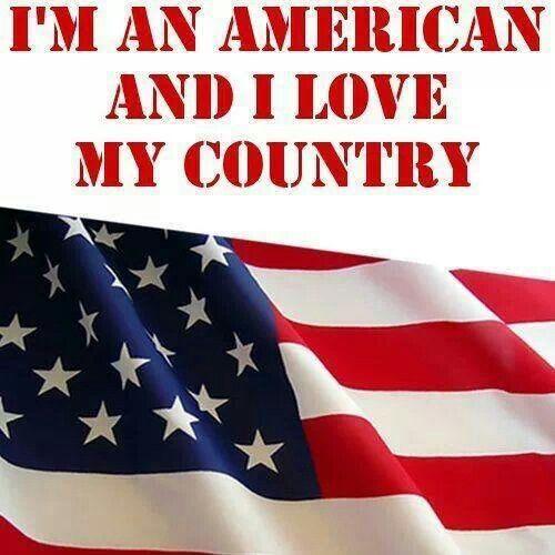 I'm an AMERICAN!