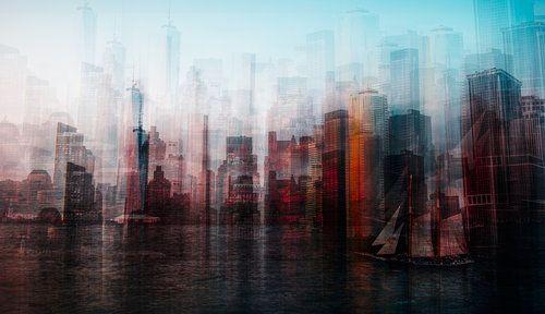 Manhattan by Carmine Chiriaco'