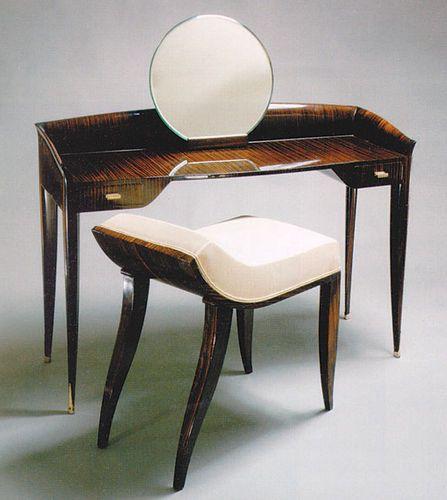 Schminktisch art deco stil ds105 by jacques emile ruhlmann pollaro toaletki art deco - Jugendstil innenarchitektur ...