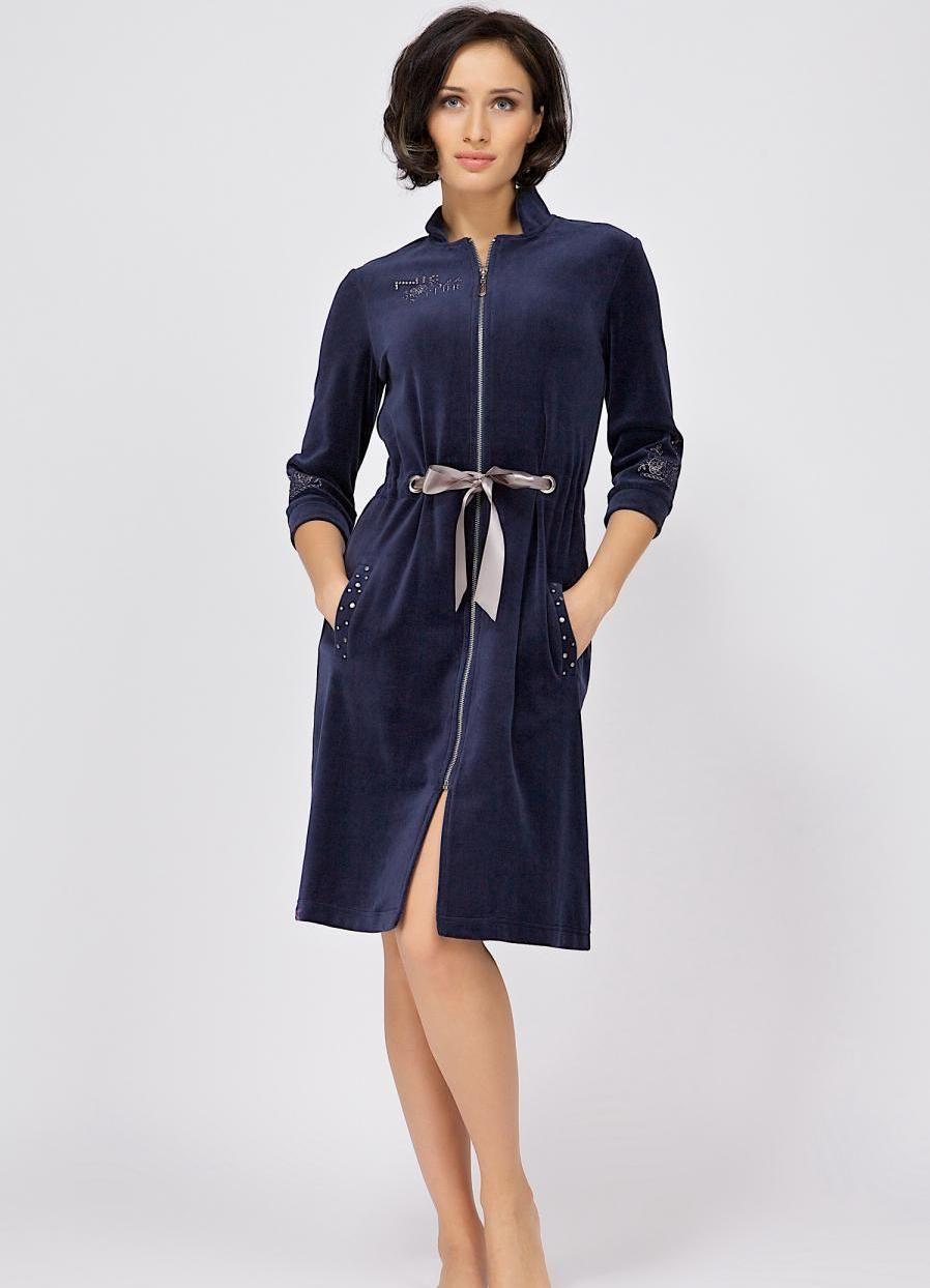 c96bca205580 Женский халат 2018: модные новинки одежды для дома. Модный халат для полных  девушек 2018