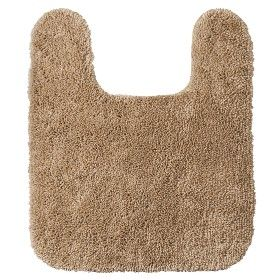 here is a toilet rug for the bathroom, and it comes in a