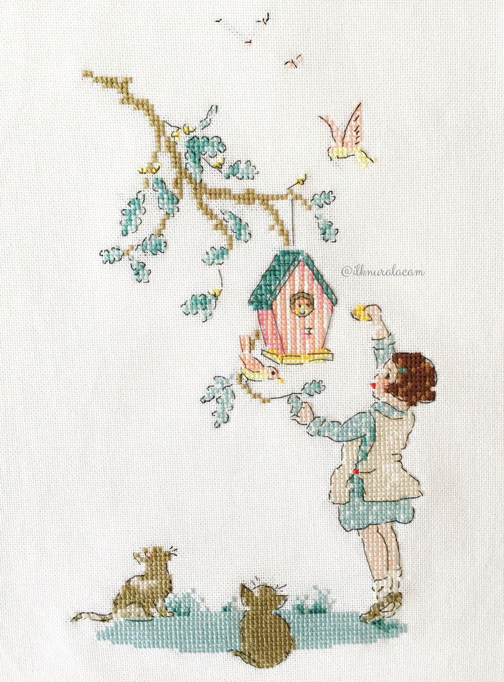 helene le berre le langage des fleurs helene le berre pinterest cross stitch stitch and. Black Bedroom Furniture Sets. Home Design Ideas