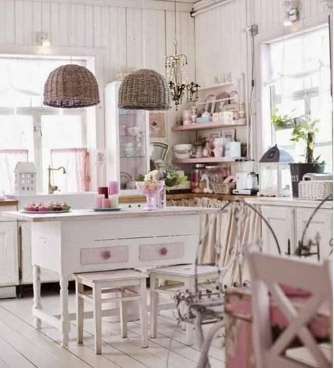 10 cocinas vintage organiza y ordena la cocina cocinas - Muebles de cocina estilo vintage ...