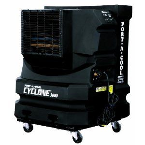 703 73 Click Image Twice For Updated Pricing And Info Port A Cool Pac2kcyc01 Cyclone 3000 Portable Evaporative Cooler Portable Air Conditioner Cooling Unit